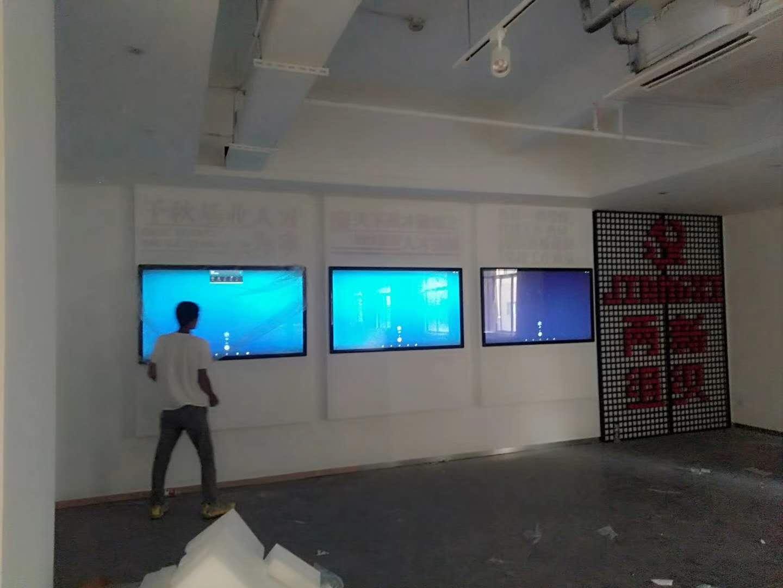 无锡市新吴区人大代表社区联络站65寸壁挂触摸一体机案例(图文)